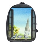 Town 1660455 1920 School Bag (Large) Front