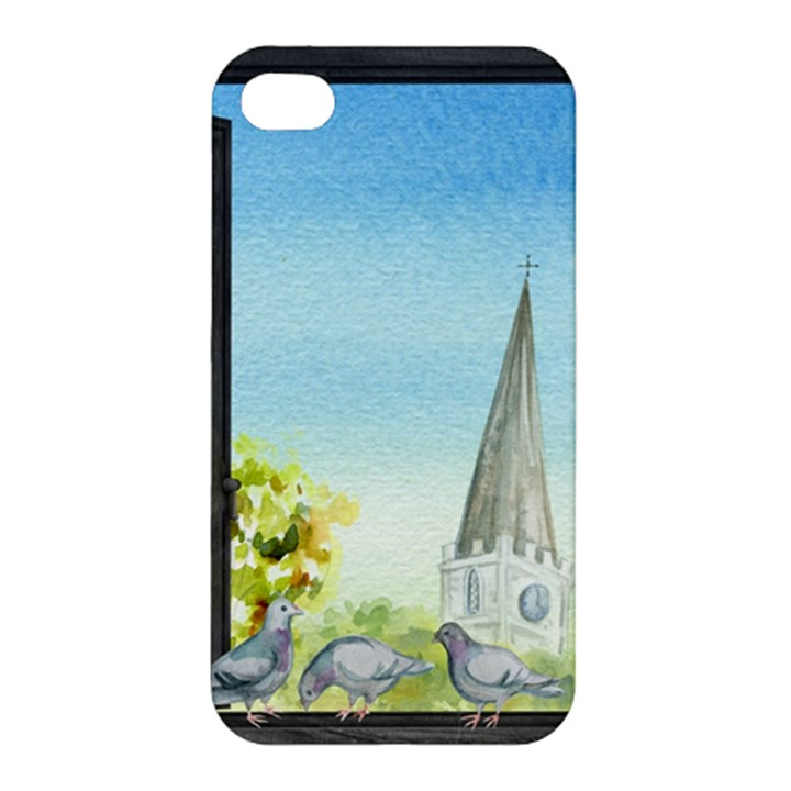 Town 1660455 1920 Apple iPhone 4/4S Premium Hardshell Case