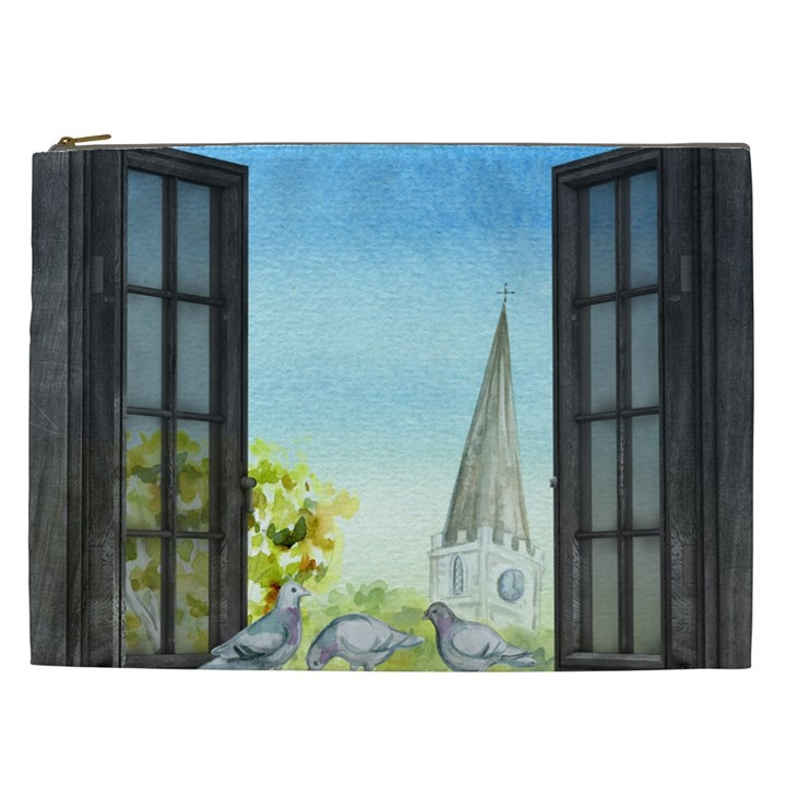 Town 1660455 1920 Cosmetic Bag (XXL)