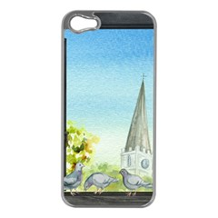 Town 1660455 1920 Apple Iphone 5 Case (silver)