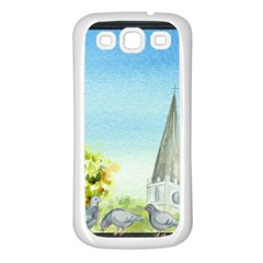 Town 1660455 1920 Samsung Galaxy S3 Back Case (white)