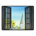 Town 1660455 1920 Double Sided Fleece Blanket (Small)  45 x34 Blanket Front