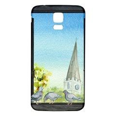 Town 1660455 1920 Samsung Galaxy S5 Back Case (white) by vintage2030