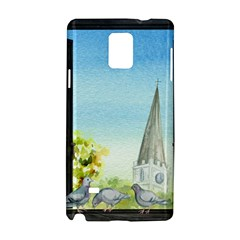Town 1660455 1920 Samsung Galaxy Note 4 Hardshell Case by vintage2030