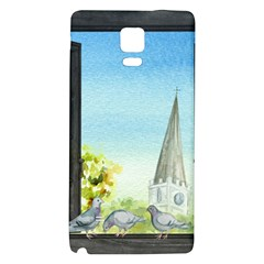 Town 1660455 1920 Samsung Note 4 Hardshell Back Case