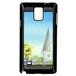 Town 1660455 1920 Samsung Galaxy Note 4 Case (Black) Front