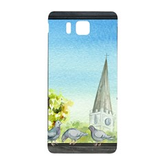 Town 1660455 1920 Samsung Galaxy Alpha Hardshell Back Case by vintage2030