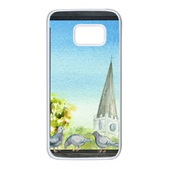 Town 1660455 1920 Samsung Galaxy S7 White Seamless Case by vintage2030