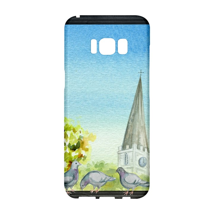 Town 1660455 1920 Samsung Galaxy S8 Hardshell Case