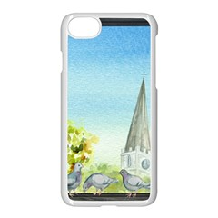 Town 1660455 1920 Apple Iphone 8 Seamless Case (white)