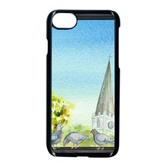 Town 1660455 1920 Apple Iphone 8 Seamless Case (black)