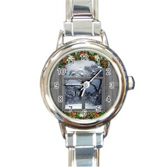 Winter 1660924 1920 Round Italian Charm Watch