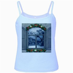Winter 1660924 1920 Baby Blue Spaghetti Tank