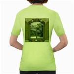 Winter 1660924 1920 Women s Green T-Shirt Back