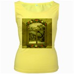 Winter 1660924 1920 Women s Yellow Tank Top Front