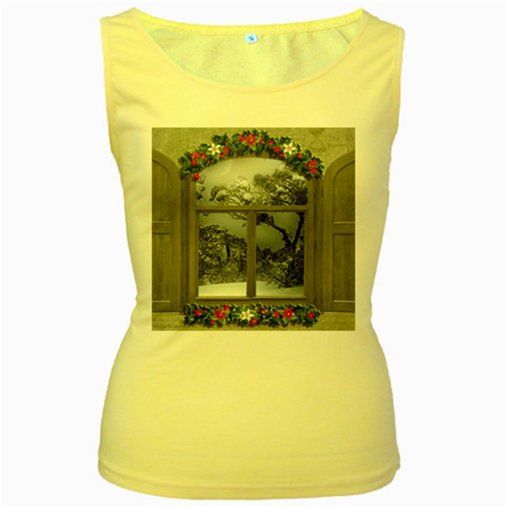 Winter 1660924 1920 Women s Yellow Tank Top