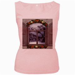 Winter 1660924 1920 Women s Pink Tank Top