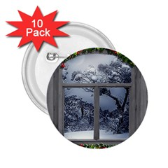 Winter 1660924 1920 2.25  Buttons (10 pack)