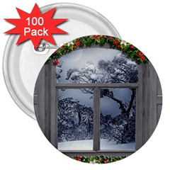 Winter 1660924 1920 3  Buttons (100 pack)