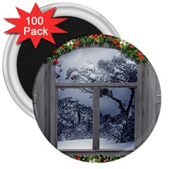 Winter 1660924 1920 3  Magnets (100 pack)