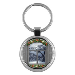 Winter 1660924 1920 Key Chains (Round)