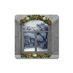 Winter 1660924 1920 Square Magnet