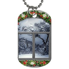 Winter 1660924 1920 Dog Tag (One Side)