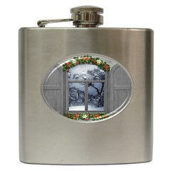Winter 1660924 1920 Hip Flask (6 oz)