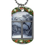 Winter 1660924 1920 Dog Tag (Two Sides) Front