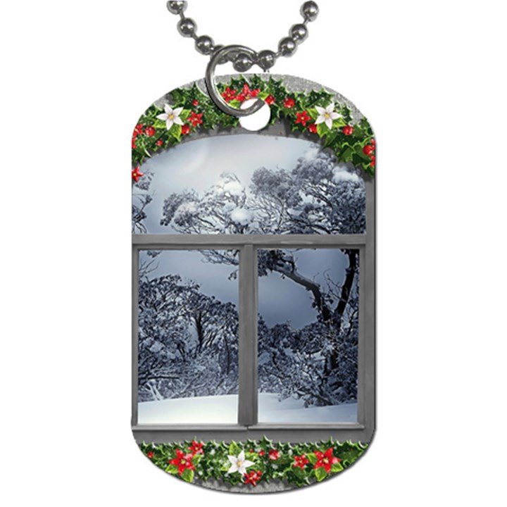 Winter 1660924 1920 Dog Tag (Two Sides)