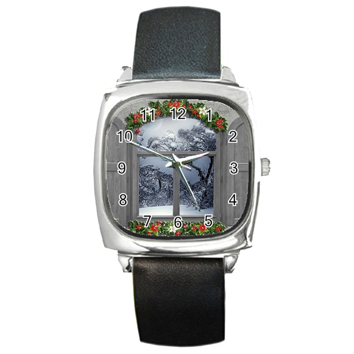 Winter 1660924 1920 Square Metal Watch