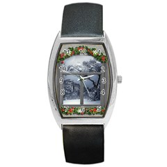 Winter 1660924 1920 Barrel Style Metal Watch