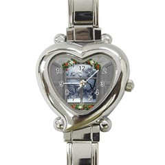 Winter 1660924 1920 Heart Italian Charm Watch