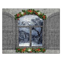 Winter 1660924 1920 Rectangular Jigsaw Puzzl