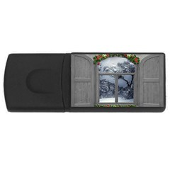 Winter 1660924 1920 Rectangular USB Flash Drive