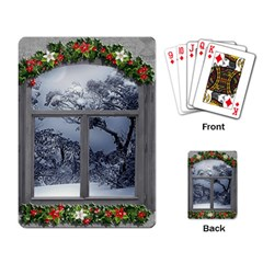 Winter 1660924 1920 Playing Cards Single Design