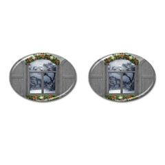 Winter 1660924 1920 Cufflinks (oval) by vintage2030