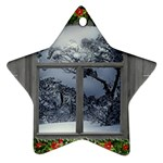 Winter 1660924 1920 Star Ornament (Two Sides) Back