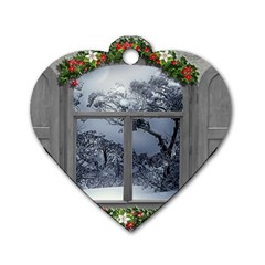 Winter 1660924 1920 Dog Tag Heart (one Side)