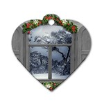Winter 1660924 1920 Dog Tag Heart (One Side) Front