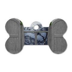 Winter 1660924 1920 Dog Tag Bone (two Sides) by vintage2030