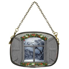 Winter 1660924 1920 Chain Purse (Two Sides)