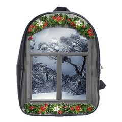 Winter 1660924 1920 School Bag (Large)