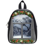 Winter 1660924 1920 School Bag (Small) Front