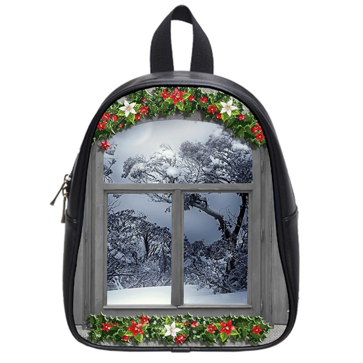 Winter 1660924 1920 School Bag (Small)