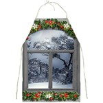 Winter 1660924 1920 Full Print Aprons Front