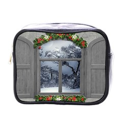 Winter 1660924 1920 Mini Toiletries Bag (one Side) by vintage2030