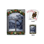 Winter 1660924 1920 Playing Cards (Mini) Back