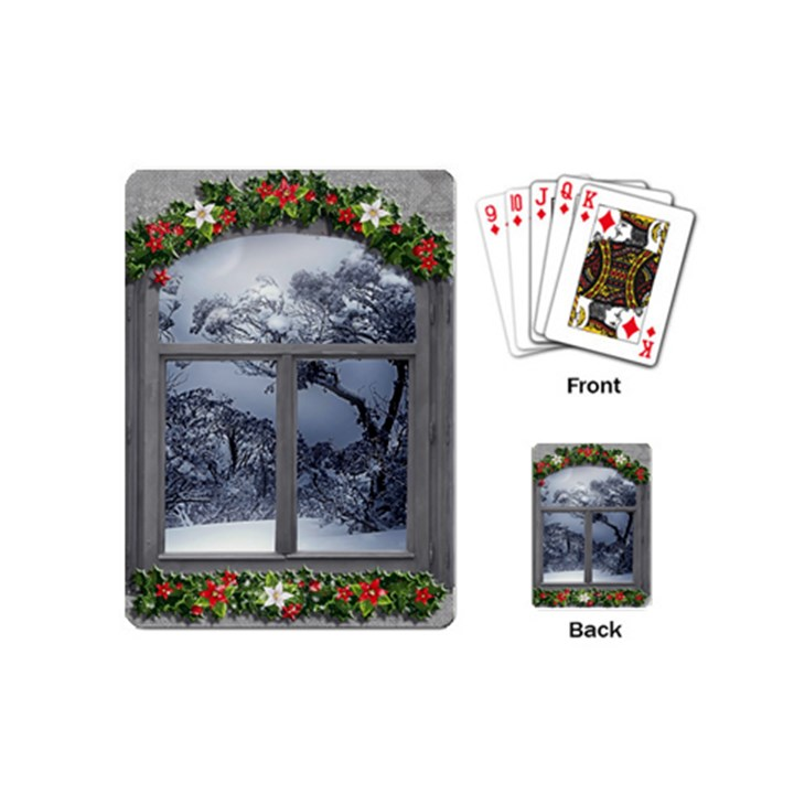 Winter 1660924 1920 Playing Cards (Mini)