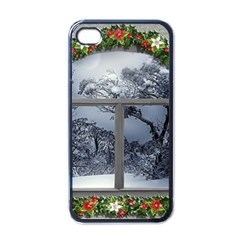Winter 1660924 1920 Apple iPhone 4 Case (Black)